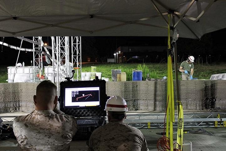 Potente impresora 3D construye el primer cuartel para el ejército de los EE.UU.