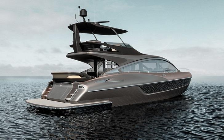 El nuevo buque insignia de Lexus es un lujoso yate