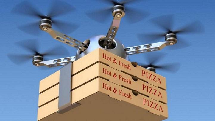 Uber planea repartir comida a domicilio mediante el uso de drones