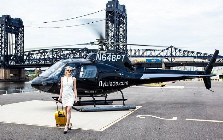 BLADE: aplicación que permite alquilar vuelos en helicóptero hacia aeropuertos (Nueva York)