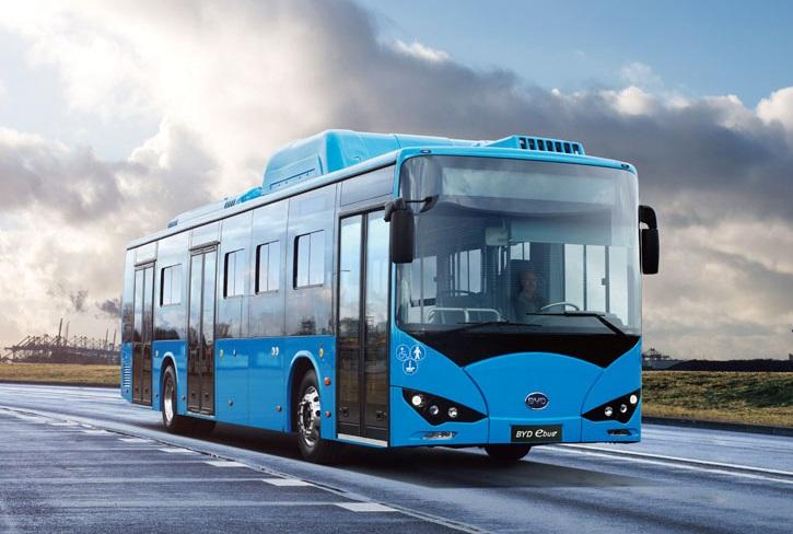 El 99% de los autobuses eléctricos del mundo se encuentran en China