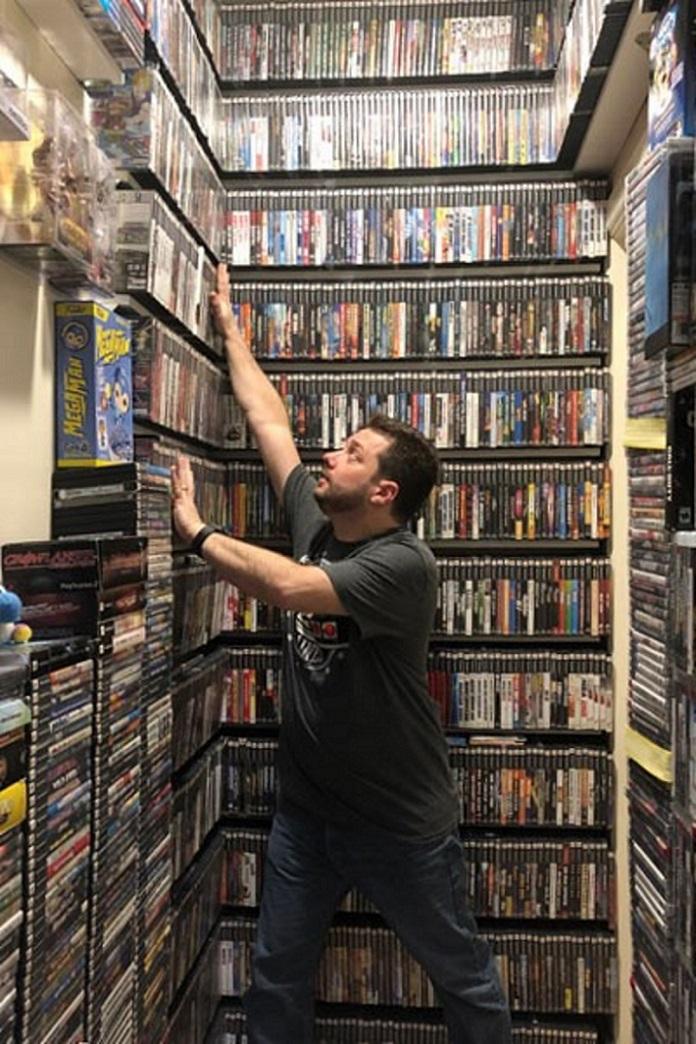 Un texano posee la colección de videojuegos más grande del mundo
