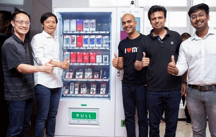 La futura máquina expendedora de Xiaomi te venderá móviles