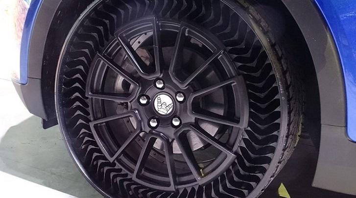 Michelin y General Motors venderán neumáticos sin aire a partir de 2024