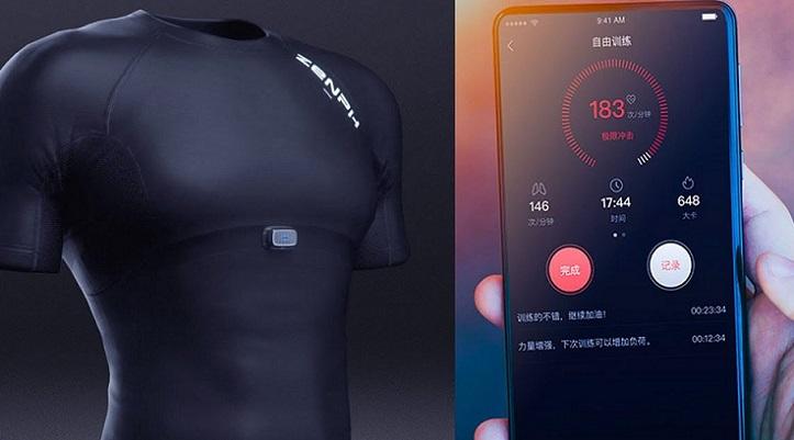 Xiaomi presenta una camiseta que es capaz de medirnos el pulso mientras hacemos deporte