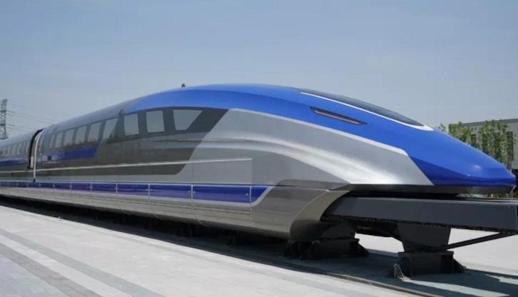 China presenta prototipo de un tren maglev cuya velocidad máxima será de 600 km/h