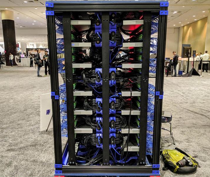 Una supercomputadora que lleva en su interior 1060 Raspberry Pi