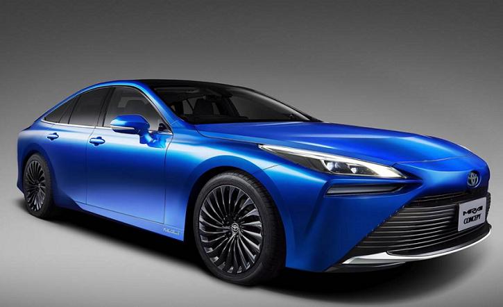 Toyota presenta su segunda generación de coches de hidrógeno